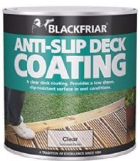blackfriar anti slip decking coating  2.5l
